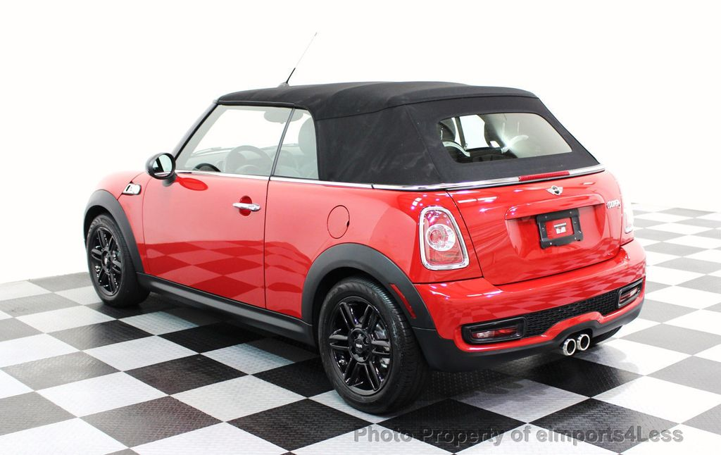 2015 MINI Cooper S Convertible CERTIFIED COOPER S CONVERTIBLE NAVIGATION - 16710023 - 42