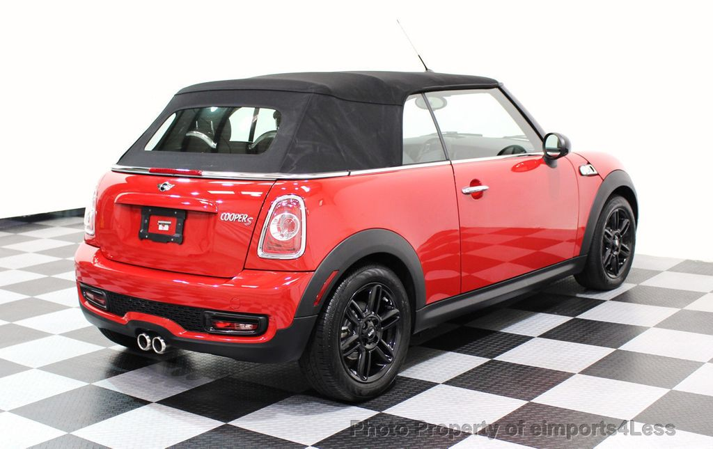 2015 MINI Cooper S Convertible CERTIFIED COOPER S CONVERTIBLE NAVIGATION - 16710023 - 43