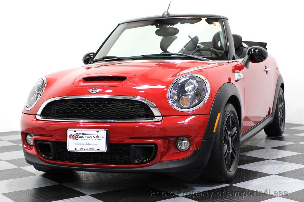 2015 MINI Cooper S Convertible CERTIFIED COOPER S CONVERTIBLE NAVIGATION - 16710023 - 44