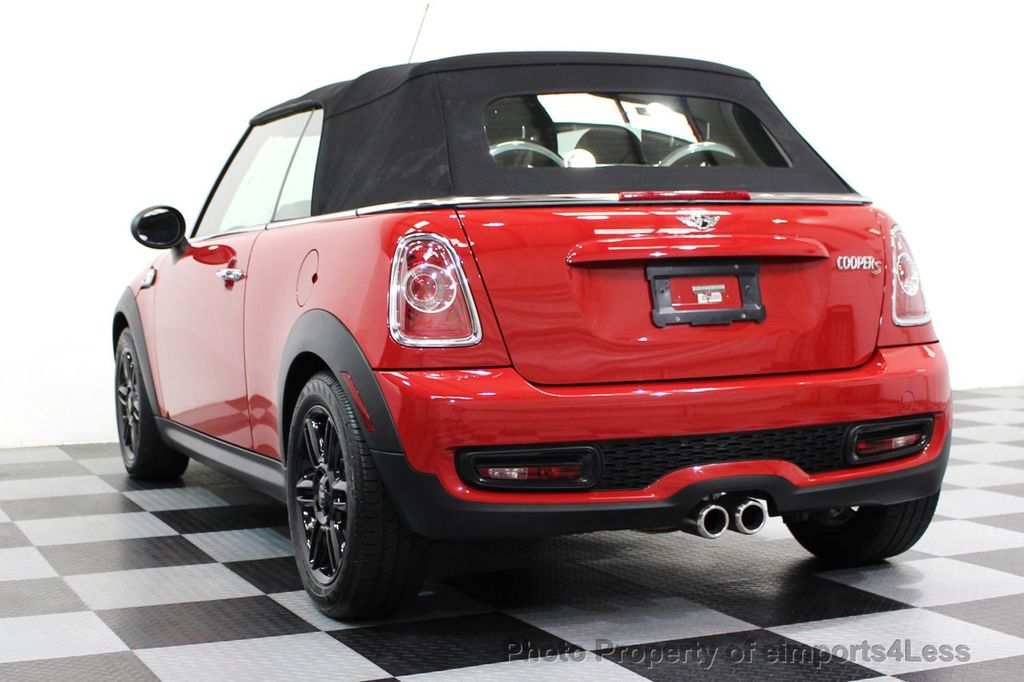 2015 MINI Cooper S Convertible CERTIFIED COOPER S CONVERTIBLE NAVIGATION - 16710023 - 45