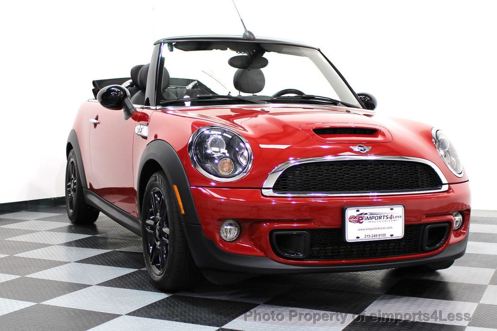 2015 MINI Cooper S Convertible CERTIFIED COOPER S CONVERTIBLE NAVIGATION - 16710023 - 47