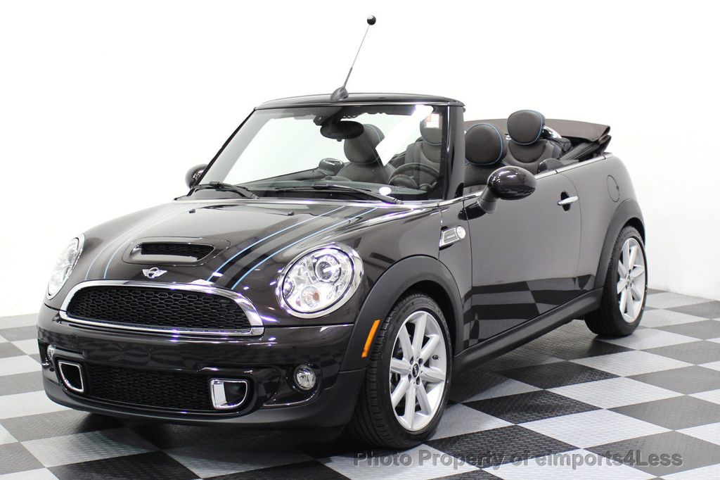 2015 MINI Cooper S Convertible CERTIFIED COOPER S HighGate Package  - 17517261 - 0