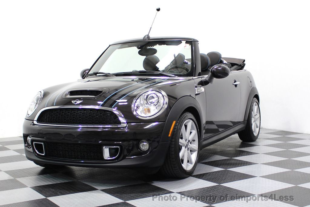 2015 MINI Cooper S Convertible CERTIFIED COOPER S HighGate Package  - 17517261 - 14