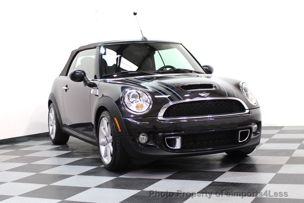 2015 MINI Cooper S Convertible CERTIFIED COOPER S HighGate Package  - 17517261 - 15