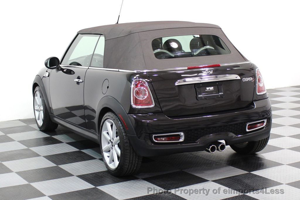 2015 MINI Cooper S Convertible CERTIFIED COOPER S HighGate Package  - 17517261 - 16