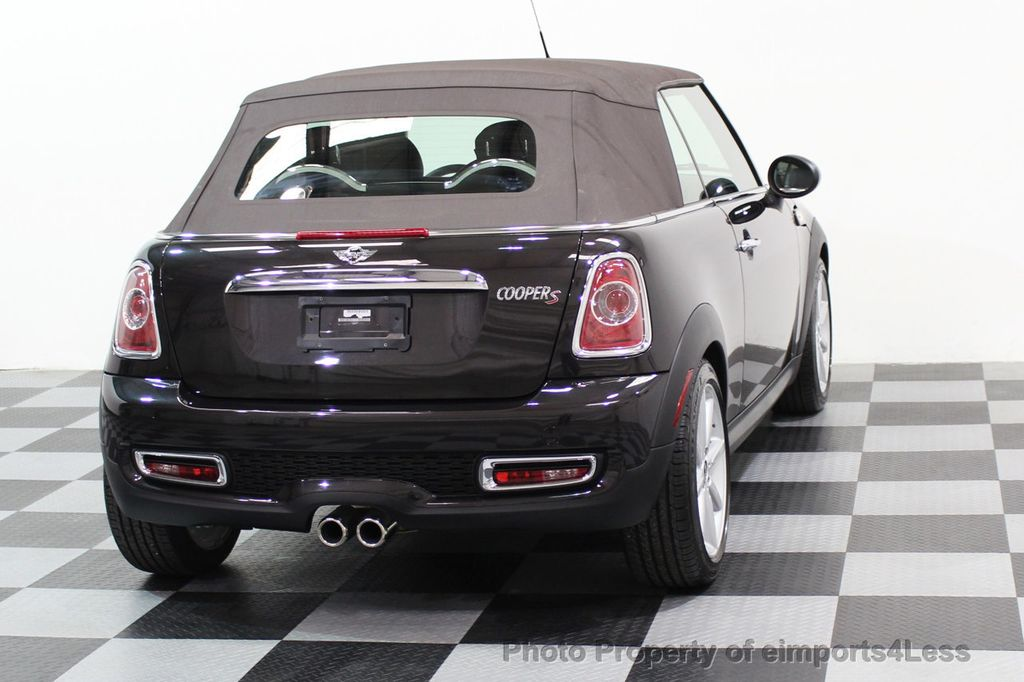 2015 MINI Cooper S Convertible CERTIFIED COOPER S HighGate Package  - 17517261 - 18