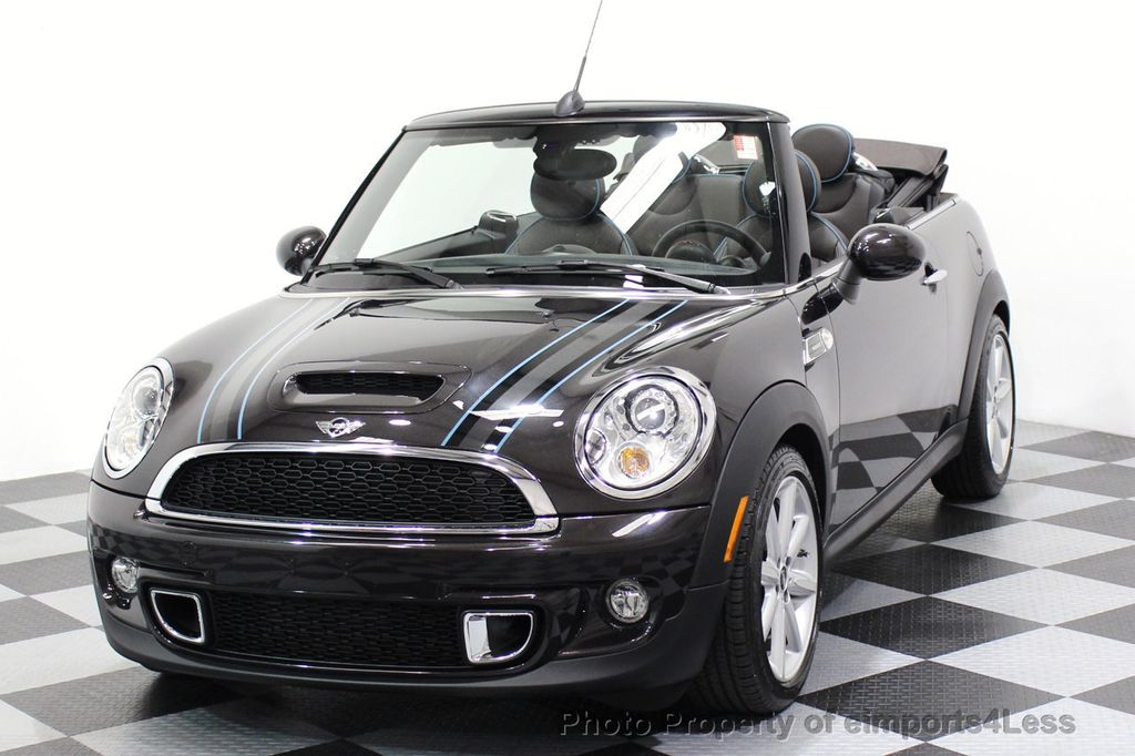 2015 MINI Cooper S Convertible CERTIFIED COOPER S HighGate Package  - 17517261 - 28