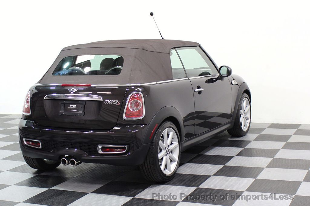 2015 MINI Cooper S Convertible CERTIFIED COOPER S HighGate Package  - 17517261 - 2