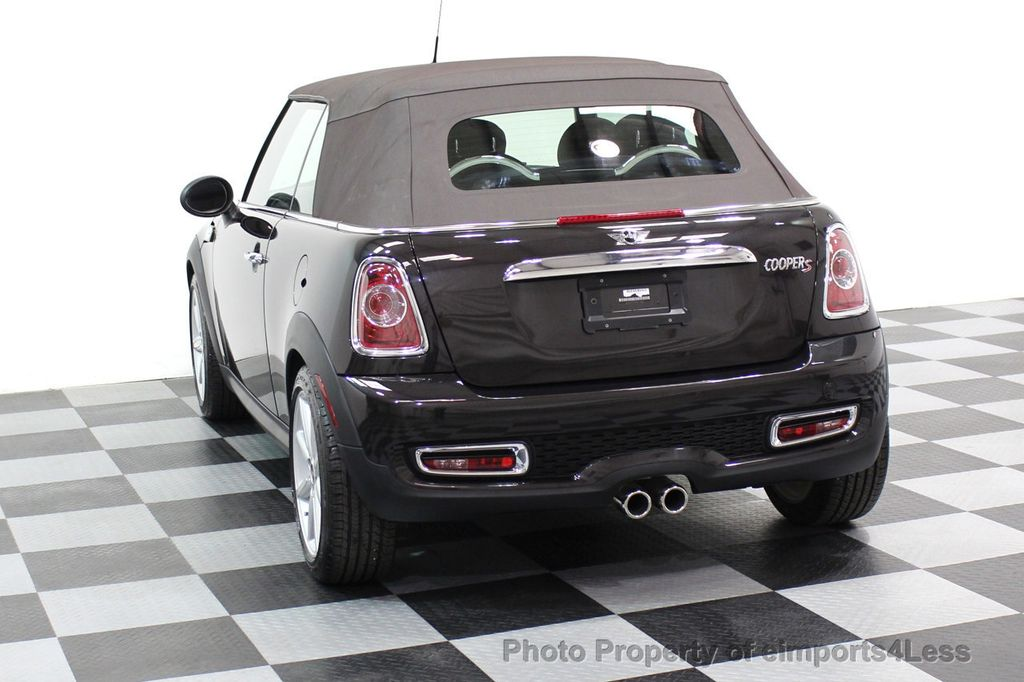 2015 MINI Cooper S Convertible CERTIFIED COOPER S HighGate Package  - 17517261 - 30