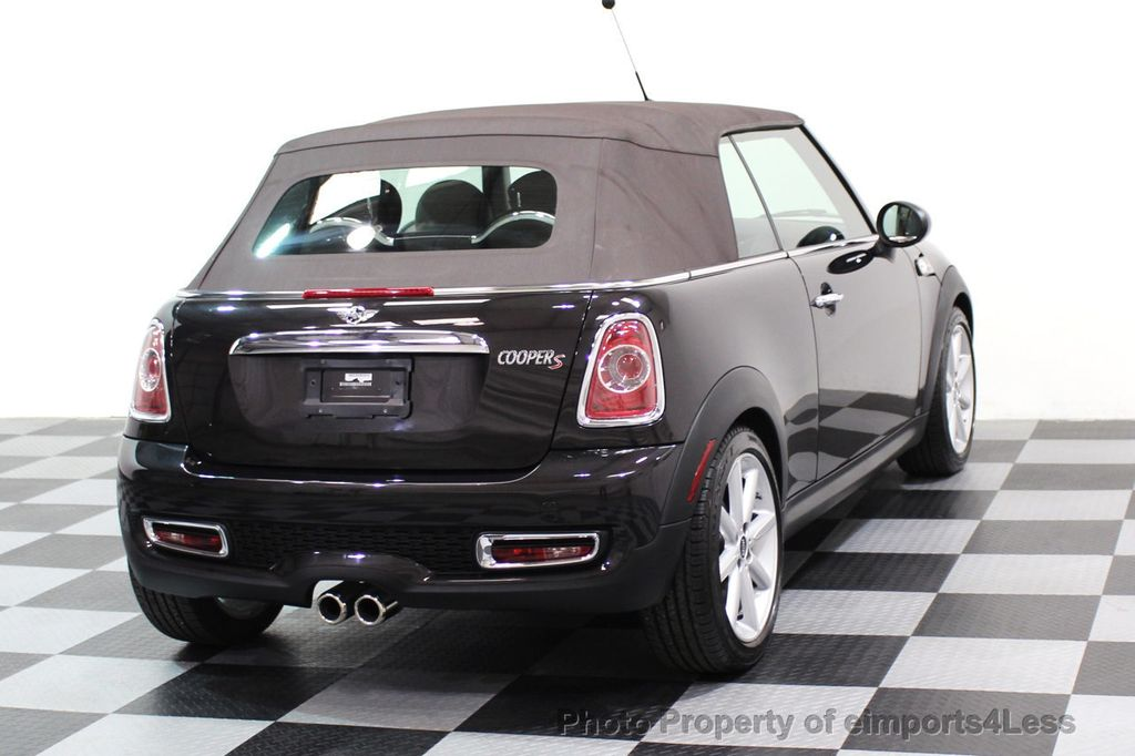 2015 MINI Cooper S Convertible CERTIFIED COOPER S HighGate Package  - 17517261 - 32