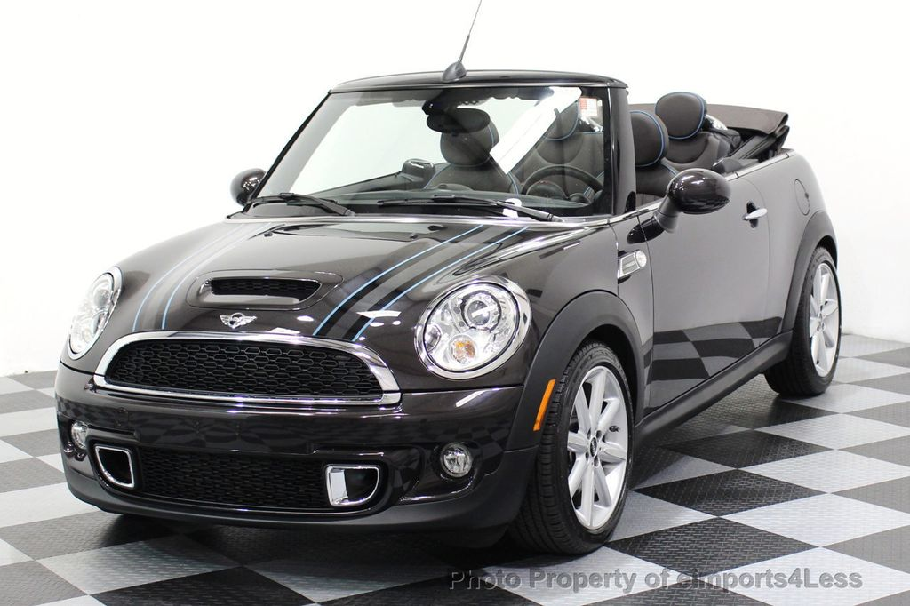 2015 MINI Cooper S Convertible CERTIFIED COOPER S HighGate Package  - 17517261 - 35