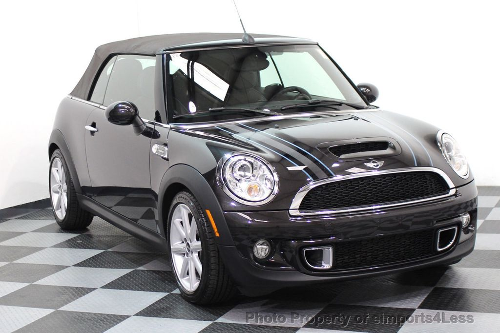 2015 MINI Cooper S Convertible CERTIFIED COOPER S HighGate Package  - 17517261 - 36