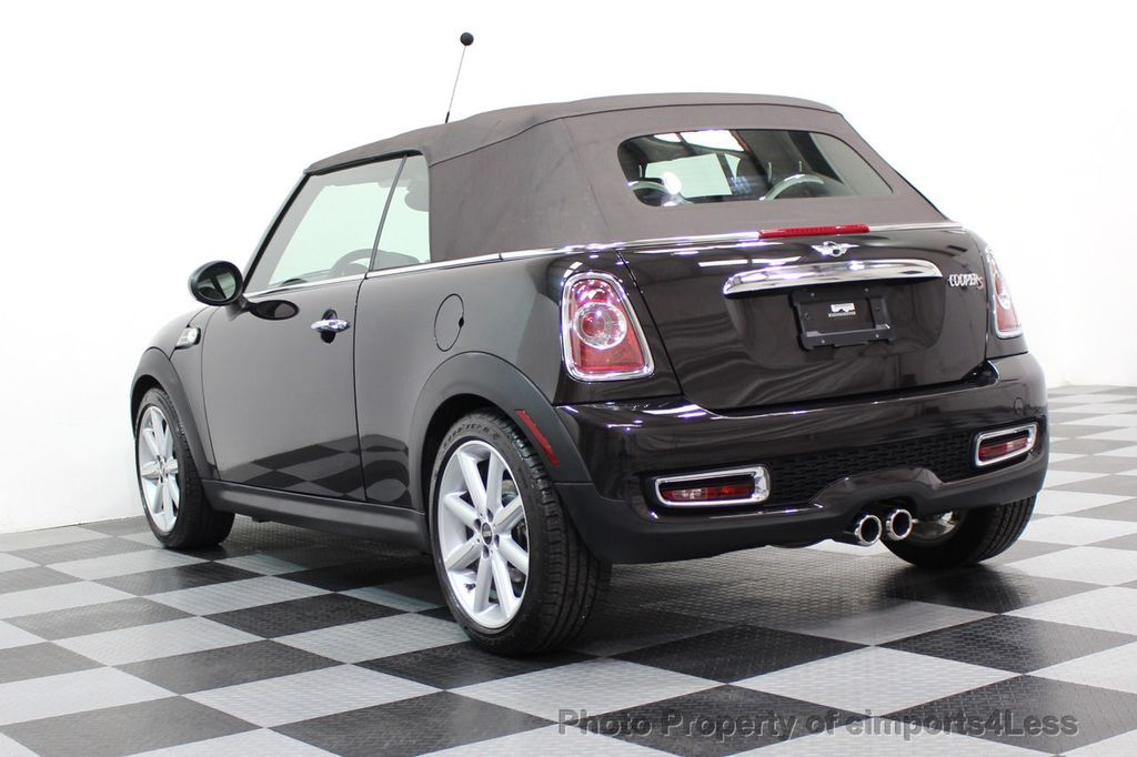 2015 MINI Cooper S Convertible CERTIFIED COOPER S HighGate Package  - 17517261 - 37