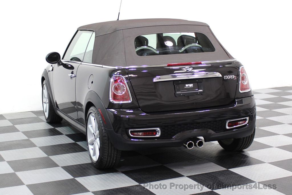 2015 MINI Cooper S Convertible CERTIFIED COOPER S HighGate Package  - 17517261 - 3
