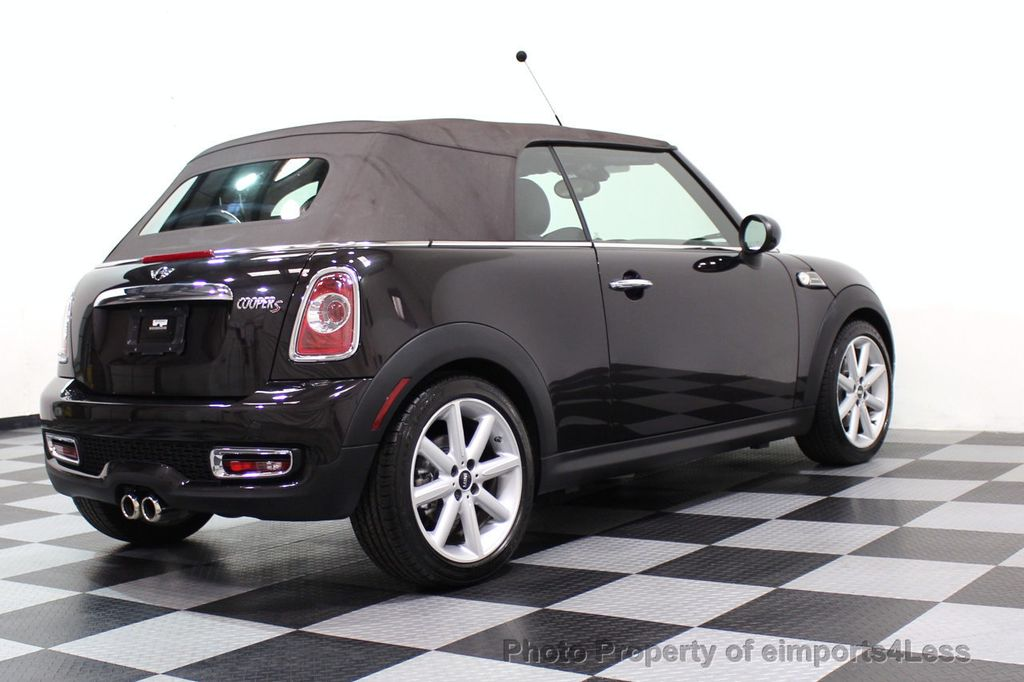 2015 MINI Cooper S Convertible CERTIFIED COOPER S HighGate Package  - 17517261 - 38