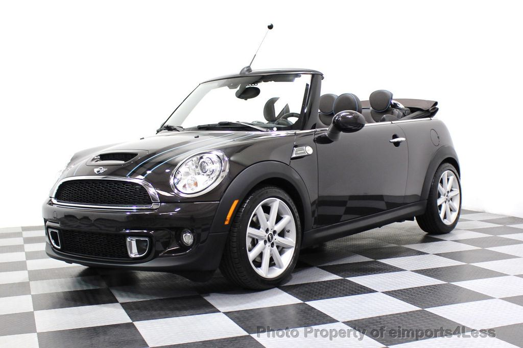 2015 MINI Cooper S Convertible CERTIFIED COOPER S HighGate Package  - 17517261 - 43