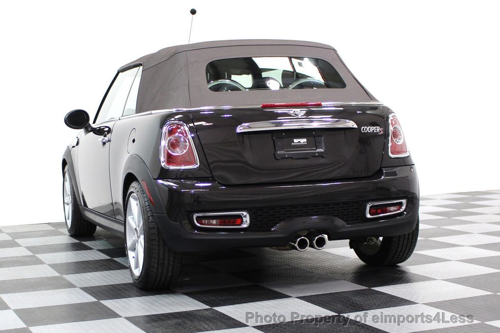 2015 MINI Cooper S Convertible CERTIFIED COOPER S HighGate Package  - 17517261 - 44