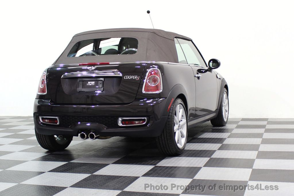 2015 MINI Cooper S Convertible CERTIFIED COOPER S HighGate Package  - 17517261 - 45