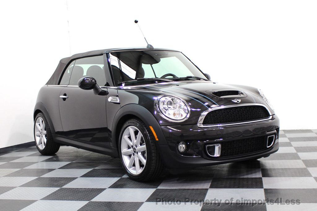 2015 MINI Cooper S Convertible CERTIFIED COOPER S HighGate Package  - 17517261 - 46