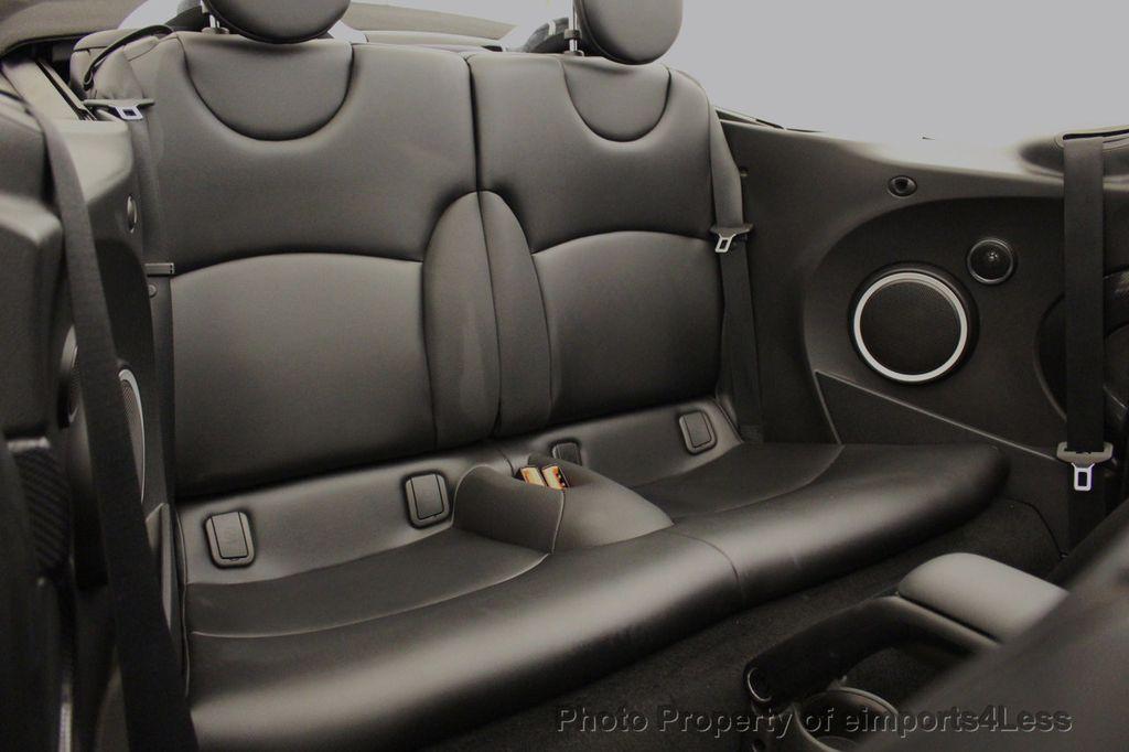 2015 MINI Cooper S Convertible CERTIFIED Cooper S Xenons Wired Tech HK AUDIO - 18227504 - 36