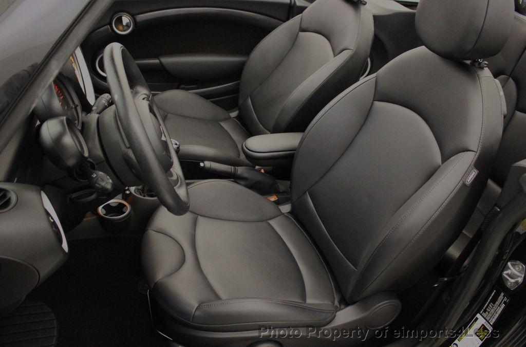 2015 MINI Cooper S Convertible CERTIFIED Cooper S Xenons Wired Tech HK AUDIO - 18227504 - 37