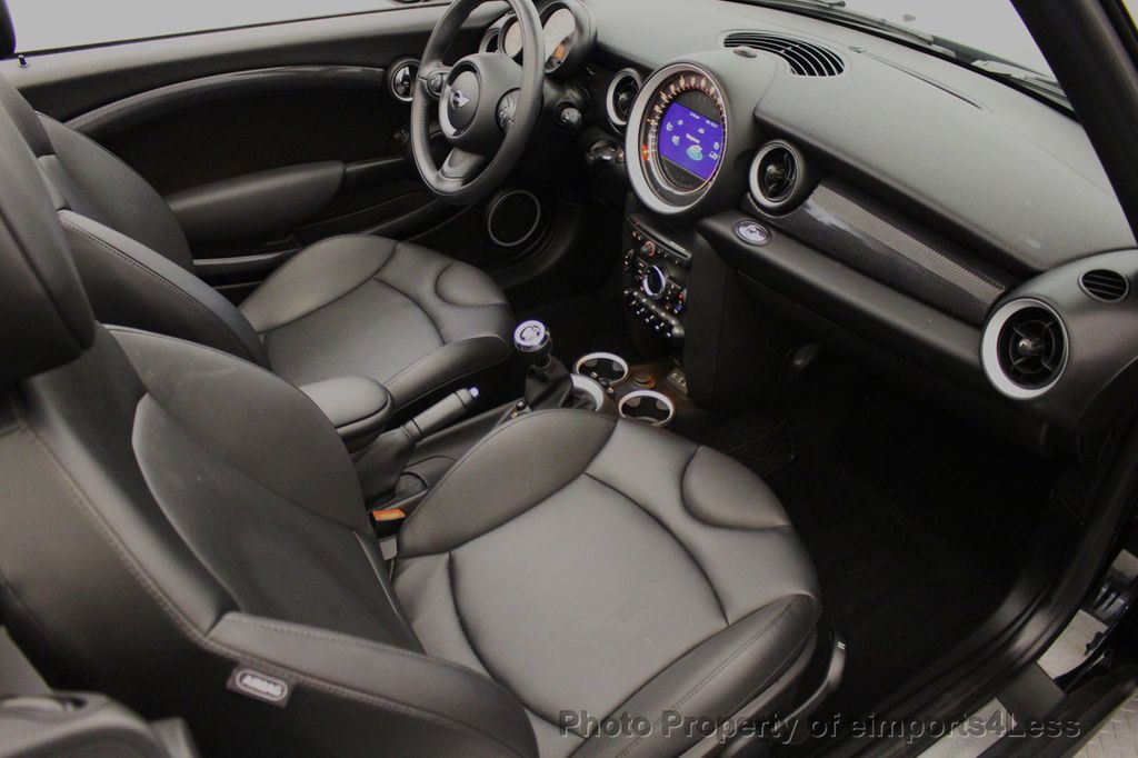 2015 MINI Cooper S Convertible CERTIFIED Cooper S Xenons Wired Tech HK AUDIO - 18227504 - 48