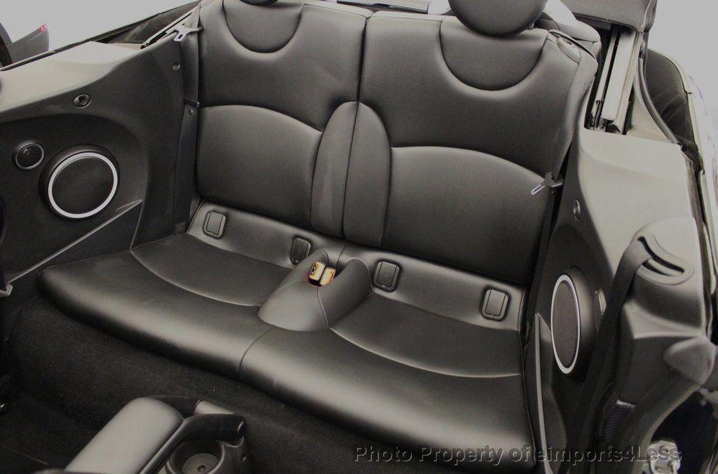 2015 MINI Cooper S Convertible CERTIFIED Cooper S Xenons Wired Tech HK AUDIO - 18227504 - 49