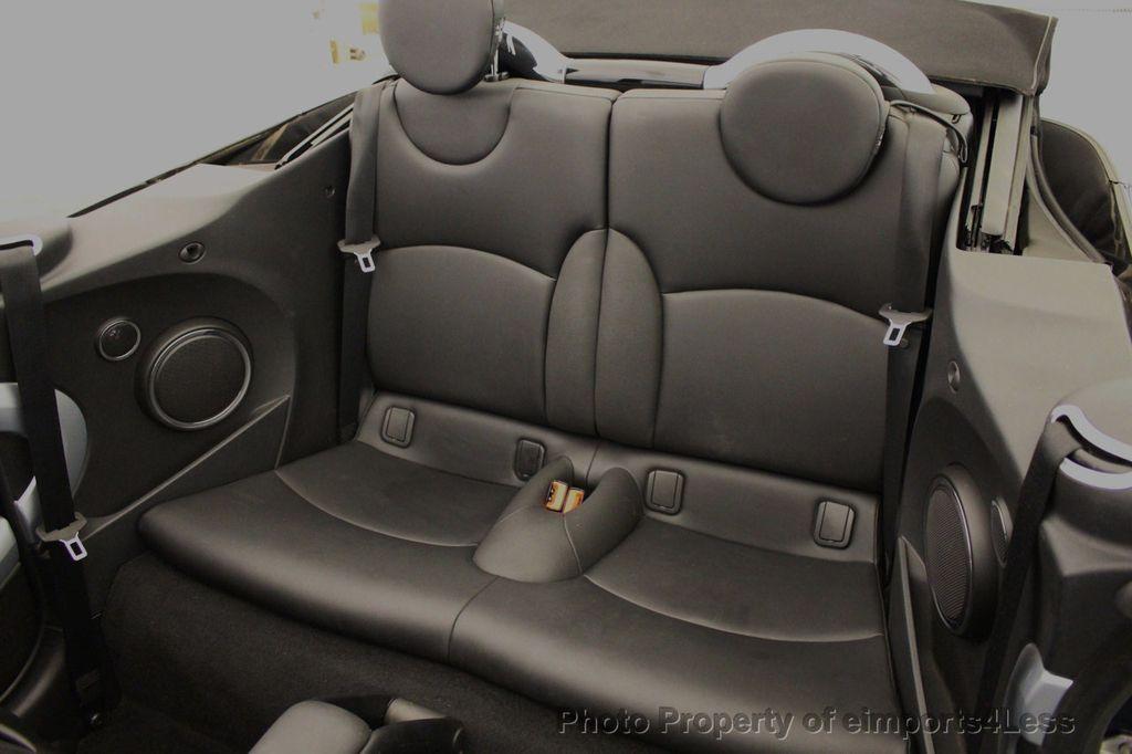 2015 MINI Cooper S Convertible CERTIFIED Mini Cooper 6 speed Manual Trans HK AUDIO - 18257408 - 34