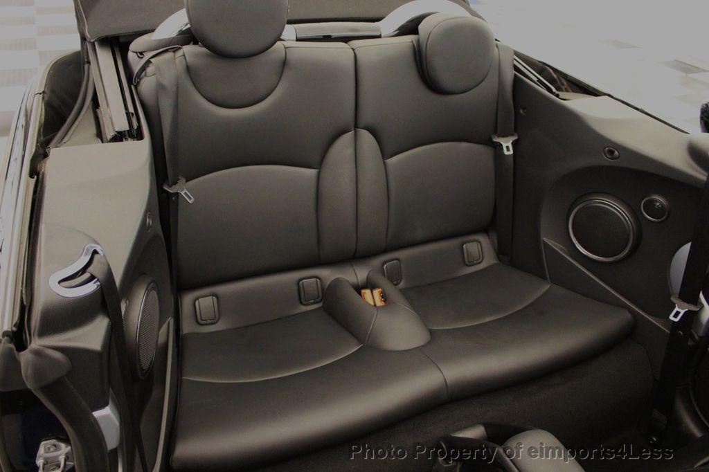2015 MINI Cooper S Convertible CERTIFIED Mini Cooper 6 speed Manual Trans HK AUDIO - 18257408 - 35