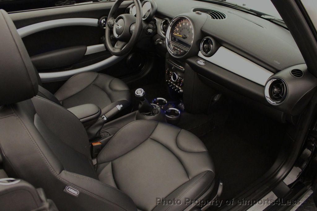 2015 MINI Cooper S Convertible CERTIFIED Mini Cooper 6 speed Manual Trans HK AUDIO - 18257408 - 37