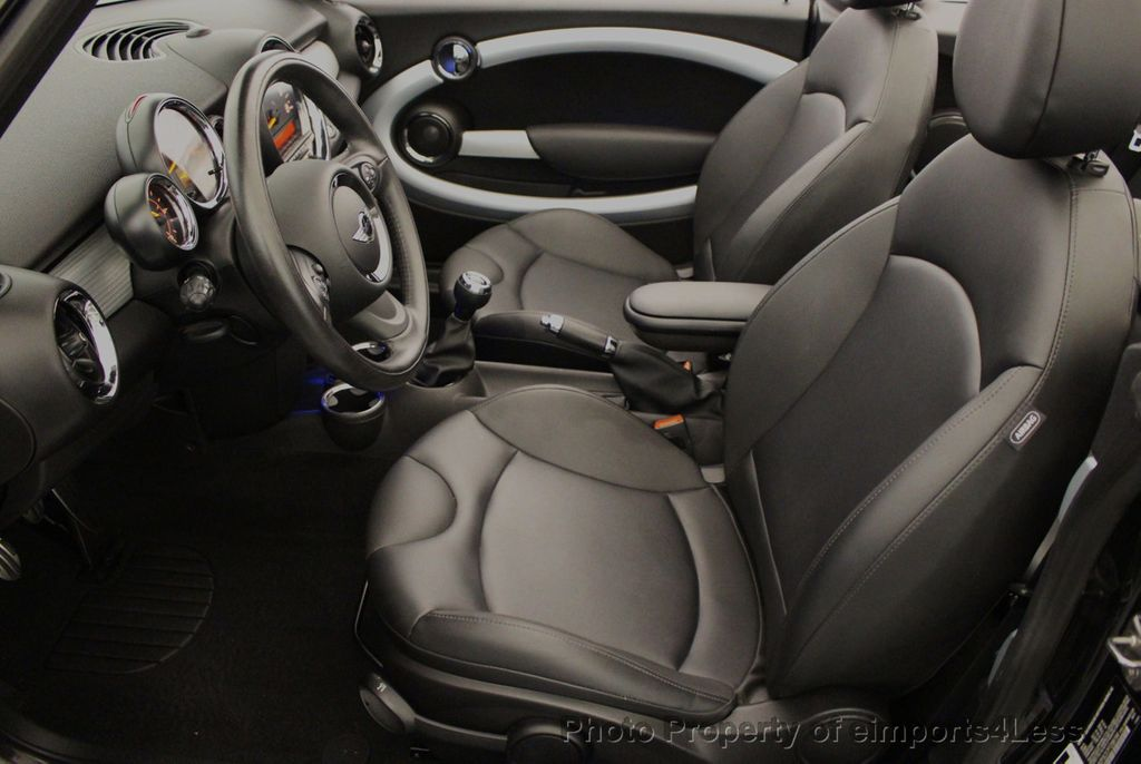 2015 MINI Cooper S Convertible CERTIFIED Mini Cooper 6 speed Manual Trans HK AUDIO - 18257408 - 47