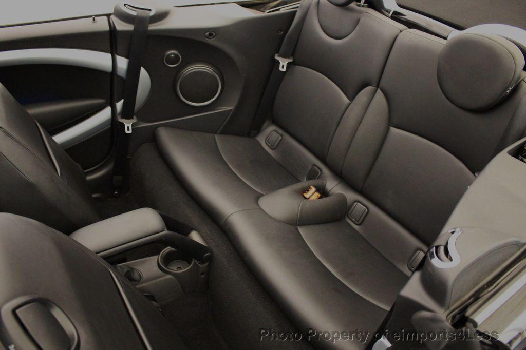 2015 MINI Cooper S Convertible CERTIFIED Mini Cooper 6 speed Manual Trans HK AUDIO - 18257408 - 7