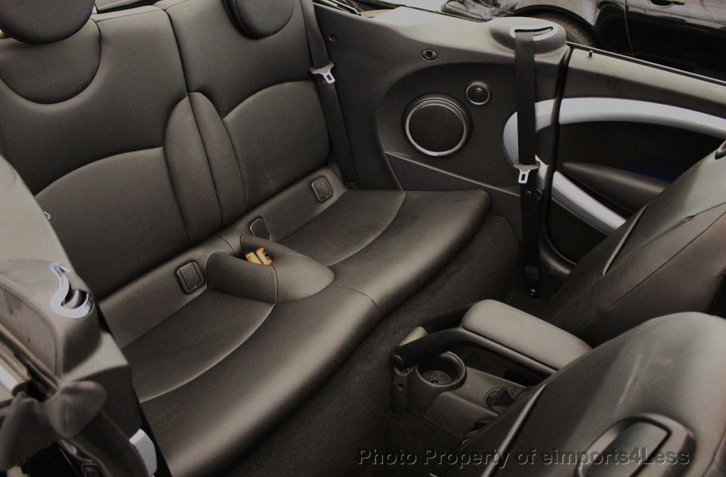 2015 MINI Cooper S Convertible CERTIFIED Mini Cooper 6 speed Manual Trans HK AUDIO - 18257408 - 8
