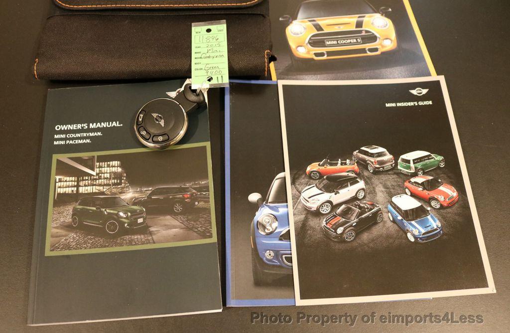2015 MINI Cooper S Countryman CERTIFIED COUNTRYMAN S ALL4 AWD 6 SPEED - 17234272 - 35