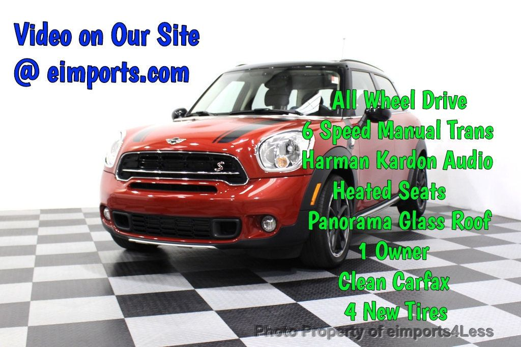 2015 MINI Cooper S Countryman CERTIFIED COUNTRYMAN S ALL4 AWD 6 SPEED  - 17981811 - 0