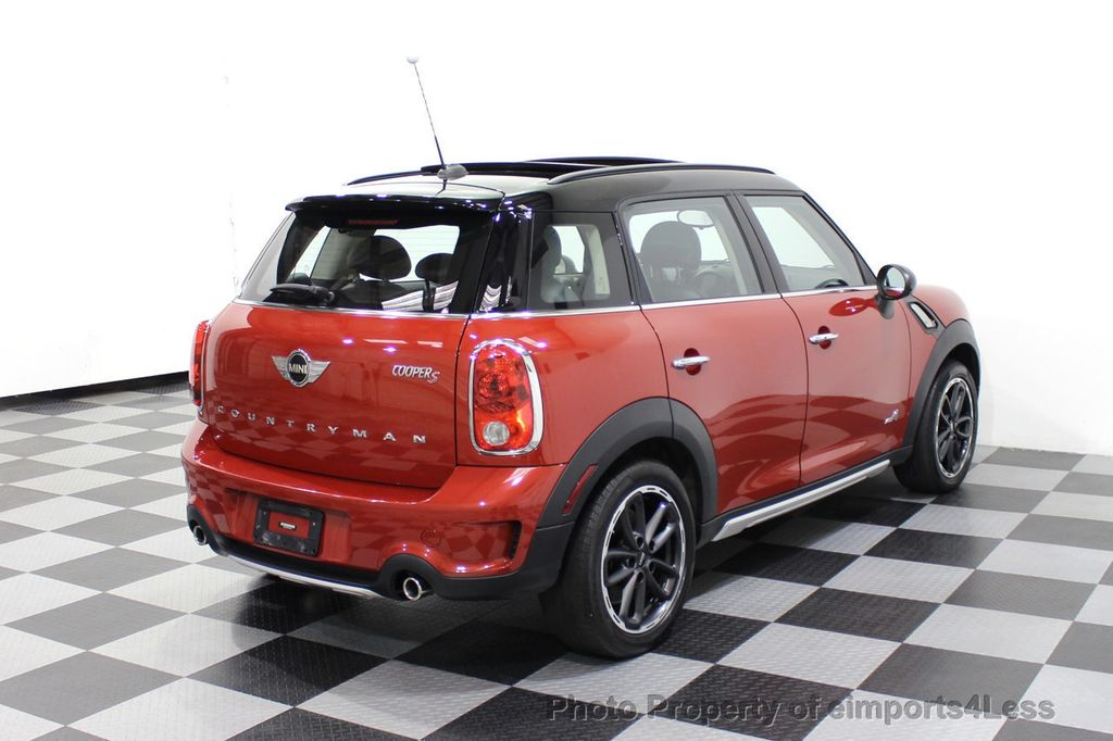 2015 MINI Cooper S Countryman CERTIFIED COUNTRYMAN S ALL4 AWD 6 SPEED  - 17981811 - 43