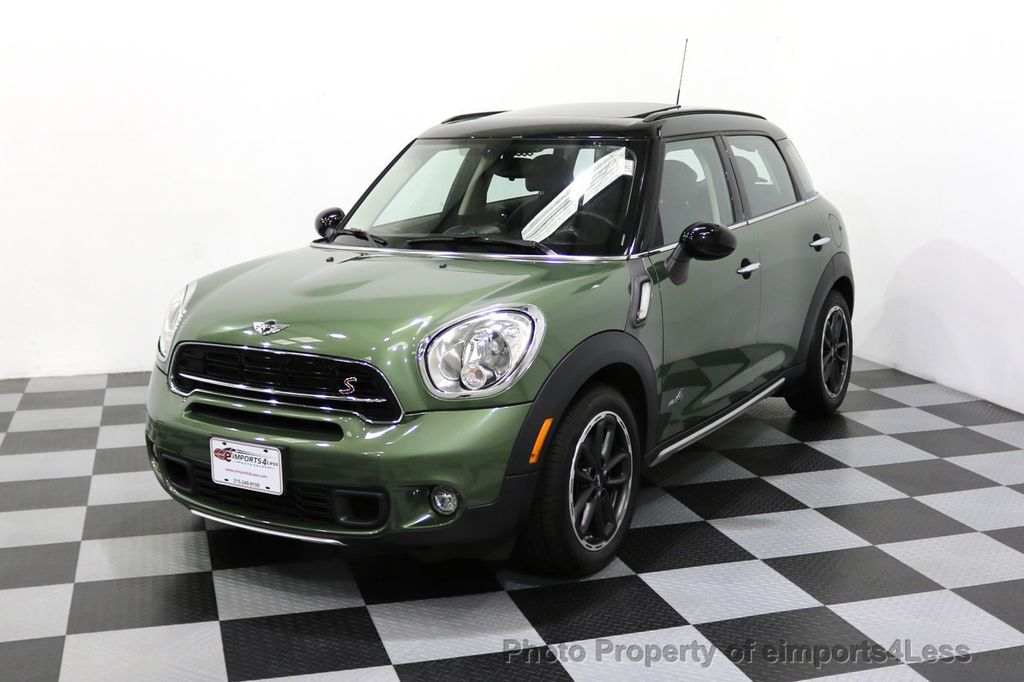 2017 Mini Cooper S Countryman Certified All4 Awd 6 Sd Manual 17981805