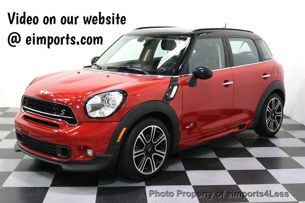 2015 MINI Cooper S Countryman CERTIFIED COUNTRYMAN S ALL4 AWD JCW PACKAGE - 17861606 - 0