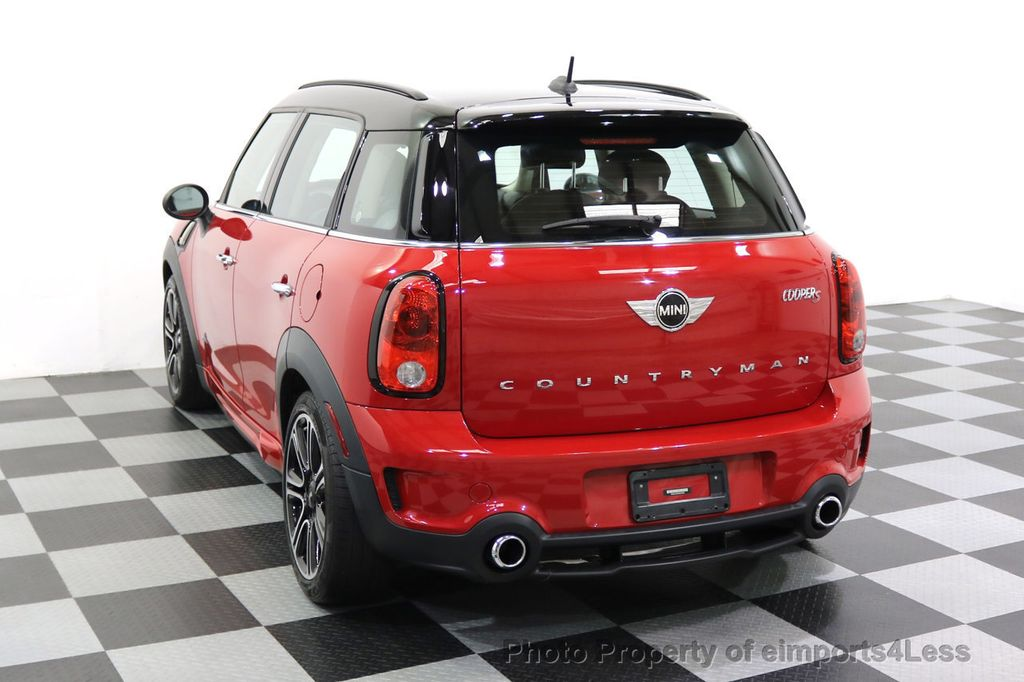 2015 MINI Cooper S Countryman CERTIFIED COUNTRYMAN S ALL4 AWD JCW PACKAGE - 17861606 - 30