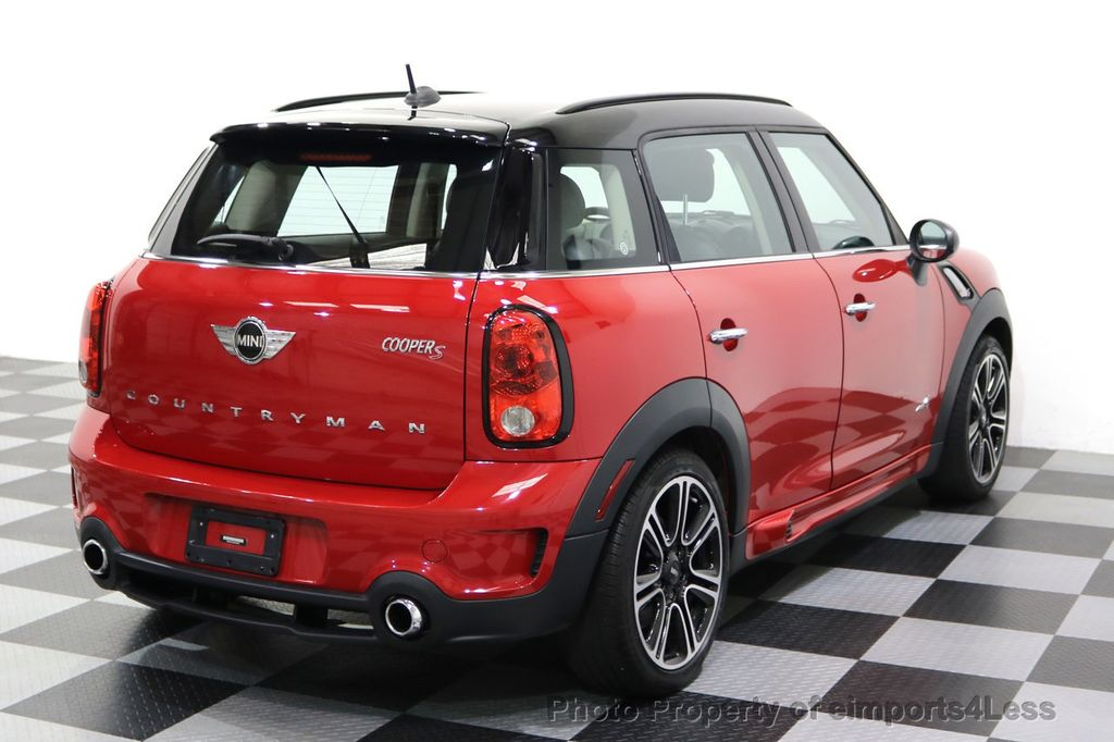 2015 MINI Cooper S Countryman CERTIFIED COUNTRYMAN S ALL4 AWD JCW PACKAGE - 17861606 - 46