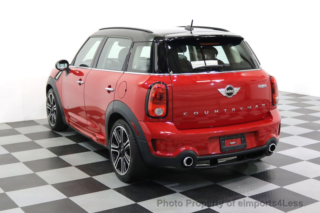2015 MINI Cooper S Countryman CERTIFIED COUNTRYMAN S ALL4 AWD JCW PACKAGE - 17861606 - 52