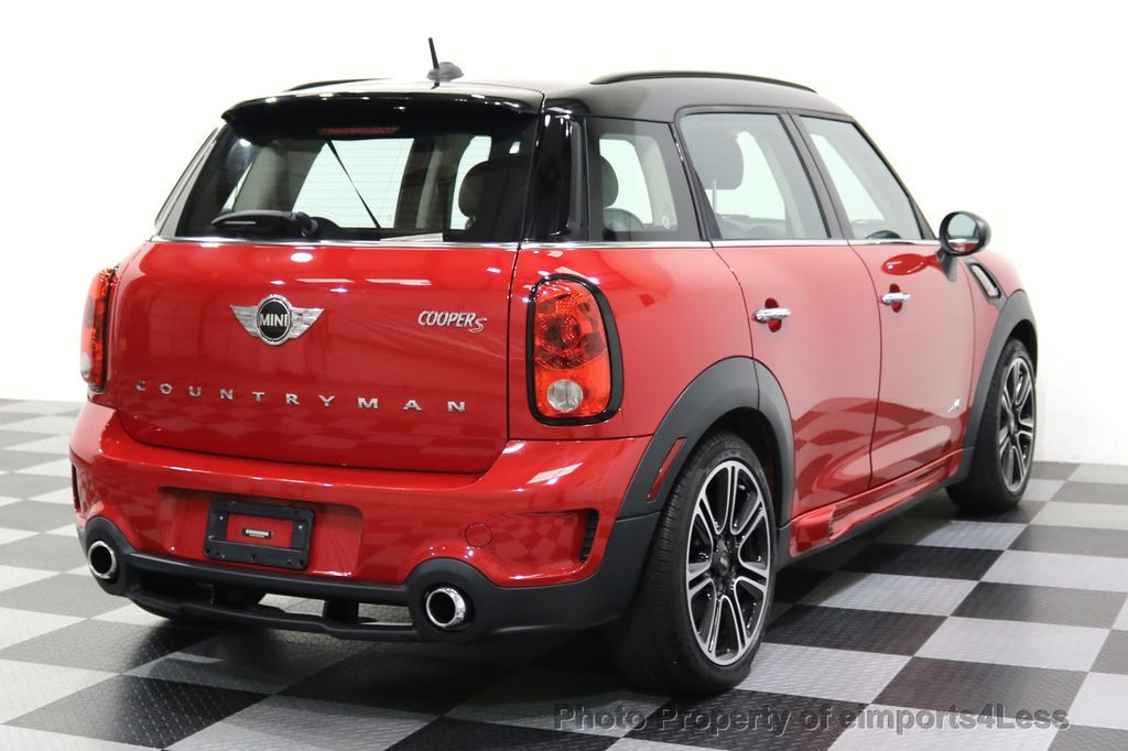 2015 MINI Cooper S Countryman CERTIFIED COUNTRYMAN S ALL4 AWD JCW PACKAGE - 17861606 - 53