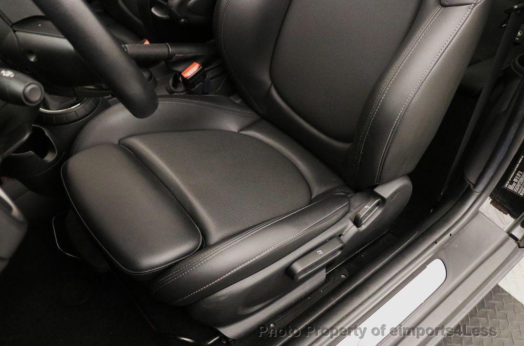 2015 MINI Cooper S Hardtop 2 Door CERTIFIED COOPER S 6 SPEED SPORT XENONS NAVIGATION - 17981802 - 22
