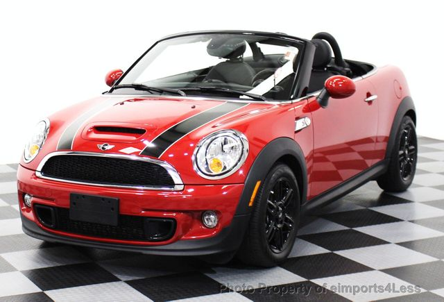 2017 Mini Cooper S Roadster Certified 15652178 0