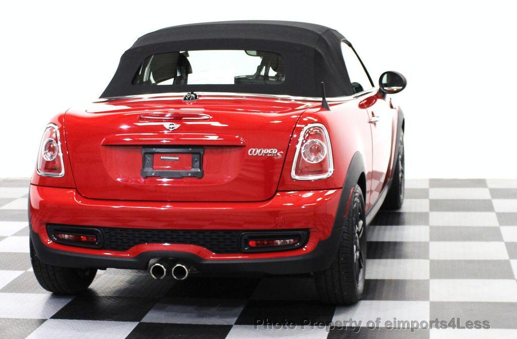 2015 Used MINI Cooper S Roadster CERTIFIED MINI COOPER S ROADSTER at ...