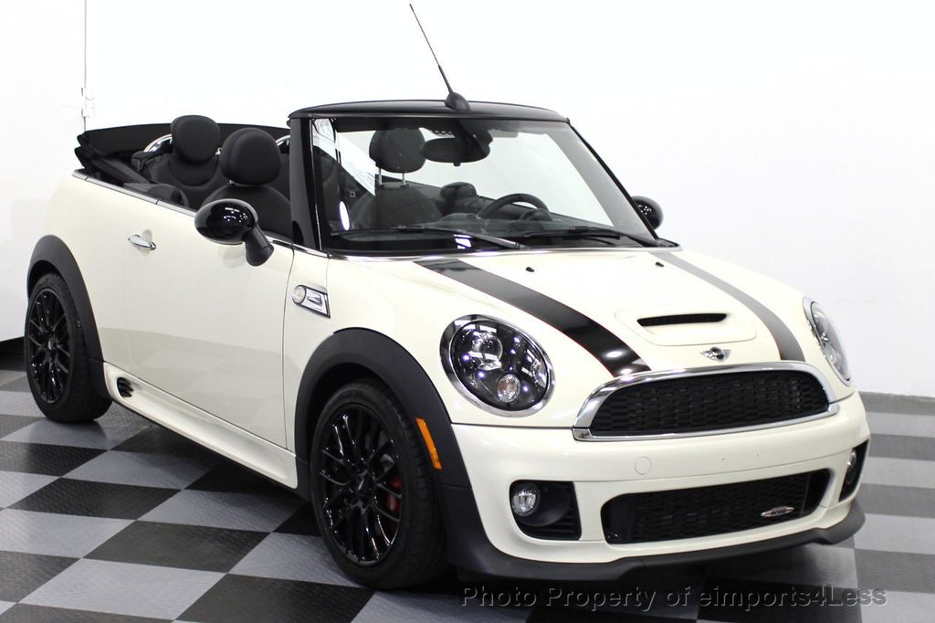 2017 Mini John Cooper Works Certified Convertible 15634510 41
