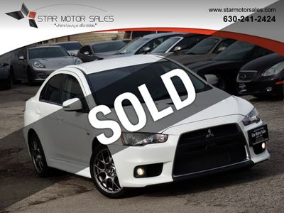 2015 Mitsubishi Lancer Evolution 4dr Sedan TC-SST MR