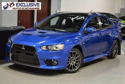 2015 Mitsubishi Lancer Evolution X Final Edition Sedan