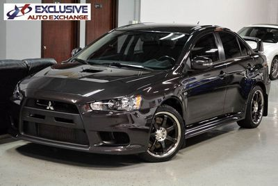 2015 Mitsubishi Lancer Evolution X GSR Sedan