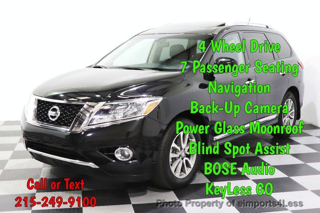 2015 Nissan Pathfinder CERTIFIED PATHFINDER SL PREMIUM 4WD 7PASS BLIS CAM NAV BOSE - 18561282 - 0